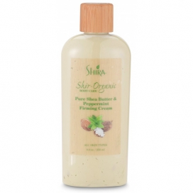 Shir-Organic Pure Shea Butter & Peppermint Firming Cream For Body