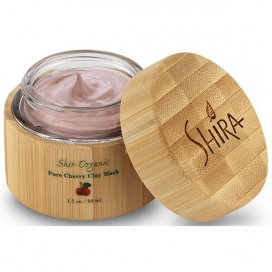 Shir-Organic Pure Cherry Clay Mask for Problem, Oily & Large Pore Skin